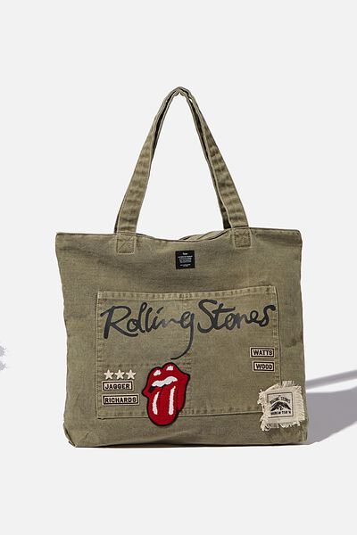 Tour Tote Bag, LCN BRA ROLLING STONES