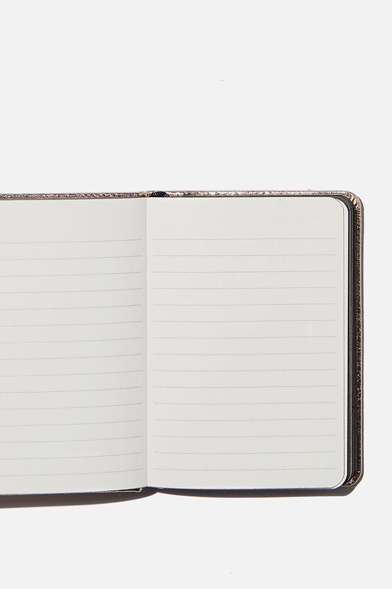 """A6 Buffalo Journal (5.8"""" x 4.1""""), SOFT GOLD"""