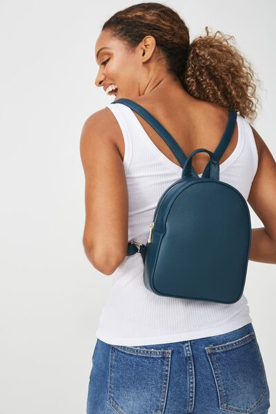 Mini Arch Backpack, TEAL