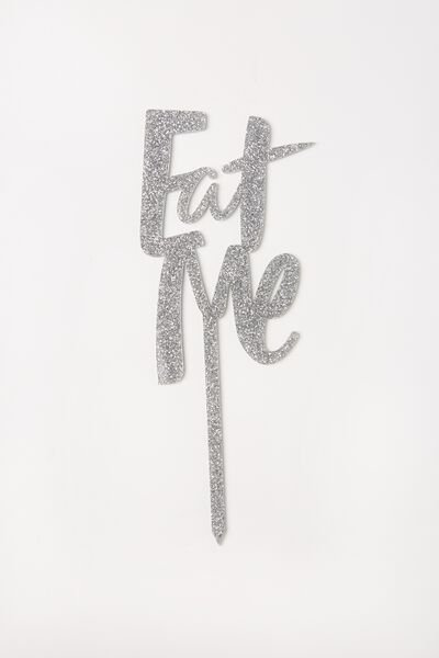 Specialty Cake Topper, EAT ME