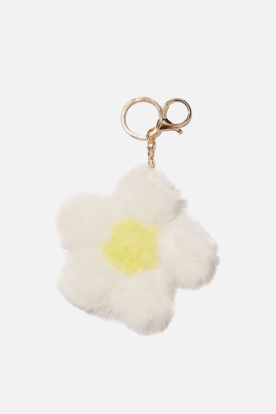 Bag Charm, POM FLOWER DESERT