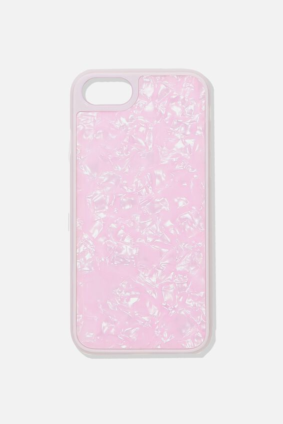 Snap On Protective Phone Case SE, 6, 7, 8, BLUSH PEARL