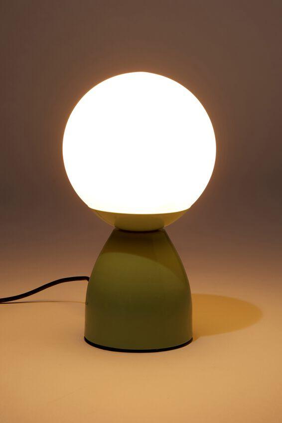 Usb Desk Lamp, MINT ROUND