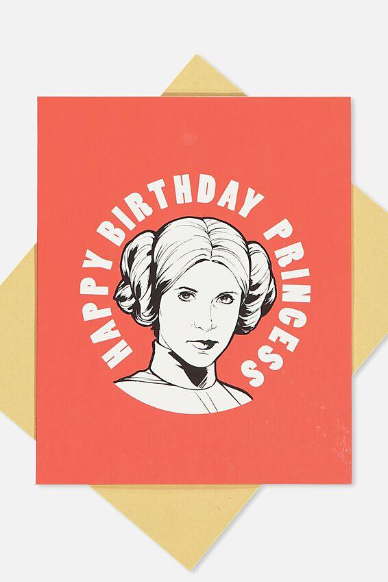 Nice Birthday Card, LCN BIRTHDAY PRINCESS