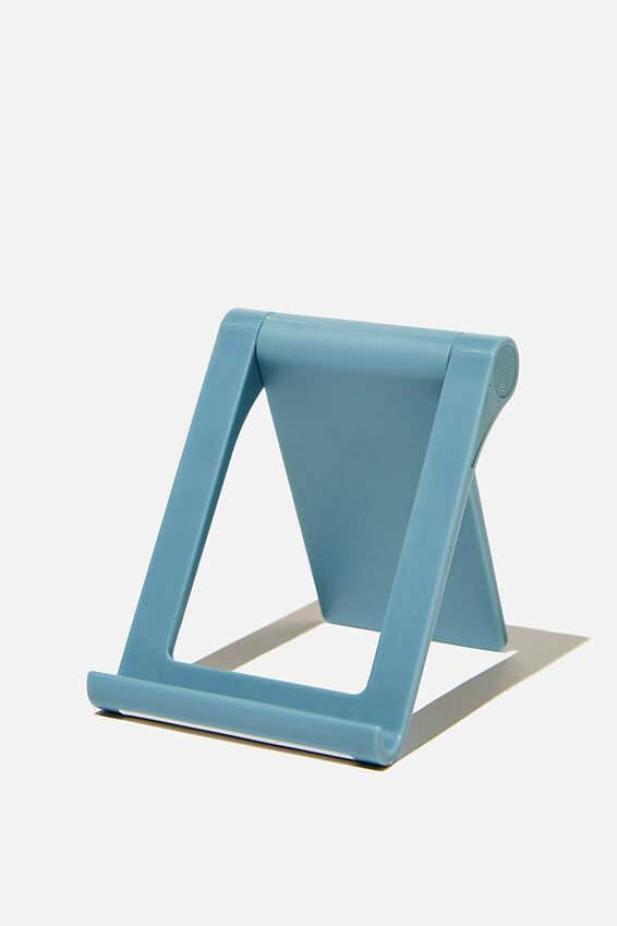 Collapsible Phone Stand, DENIM BLUE