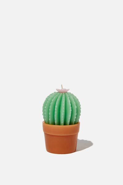 Small Shaped Candle, CACTUS