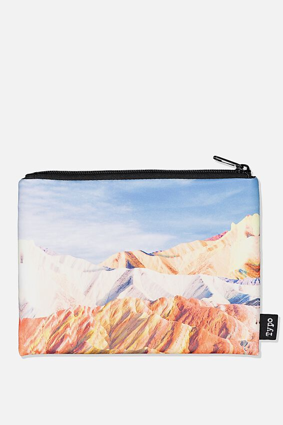 Pu Campus Pencil Case, MOUNTAINS