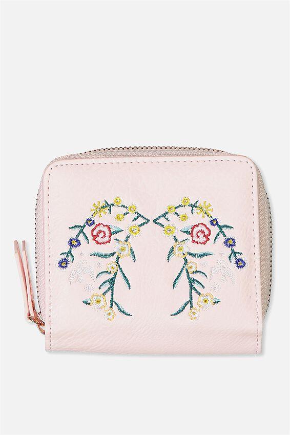 Mini Wallet, BLUSH FLORAL