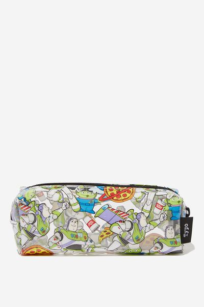 Clear Bailey Pencil Case, LCN TOY BUZZ LIGHT YEAR