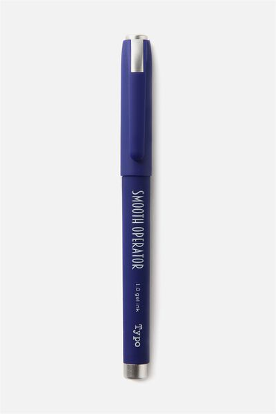 Smooth Operator Gel Pen, BLUE