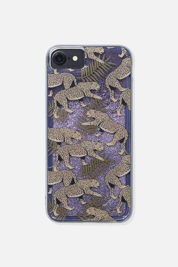 Shake It Phone Case Universal 6,7,8, LEOPARD FERN