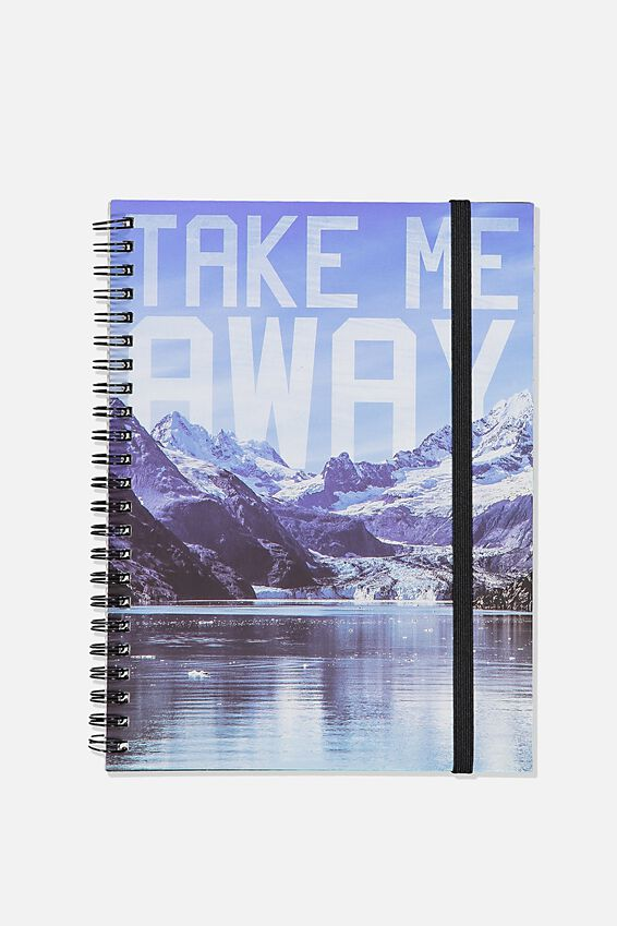 Small Spinout Notebook, TAKE ME AWAY