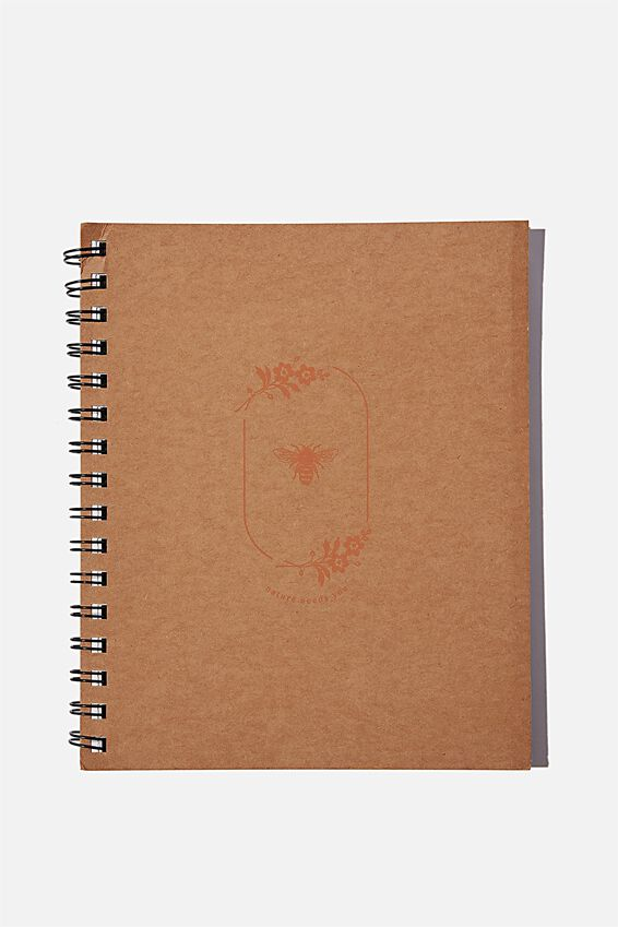 A5 Campus Notebook Recycled, NATURE NEEDS YOU