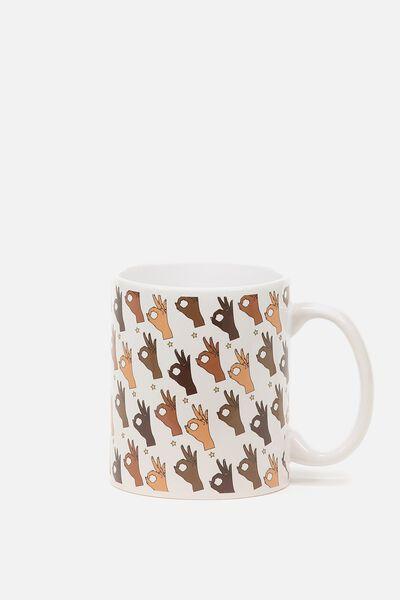 Anytime Mug, OKAY FINGER