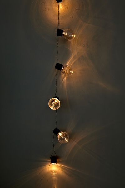 Usb Festoon String Lights 20L, CLEAR BULBS