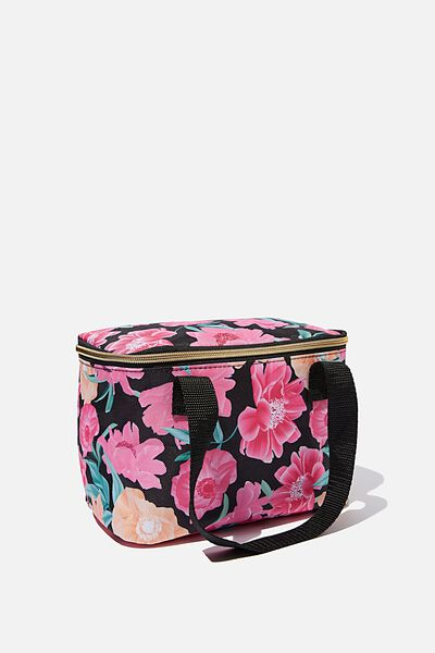Eat It Up Lunch Bag, WILD PEONY FLORAL