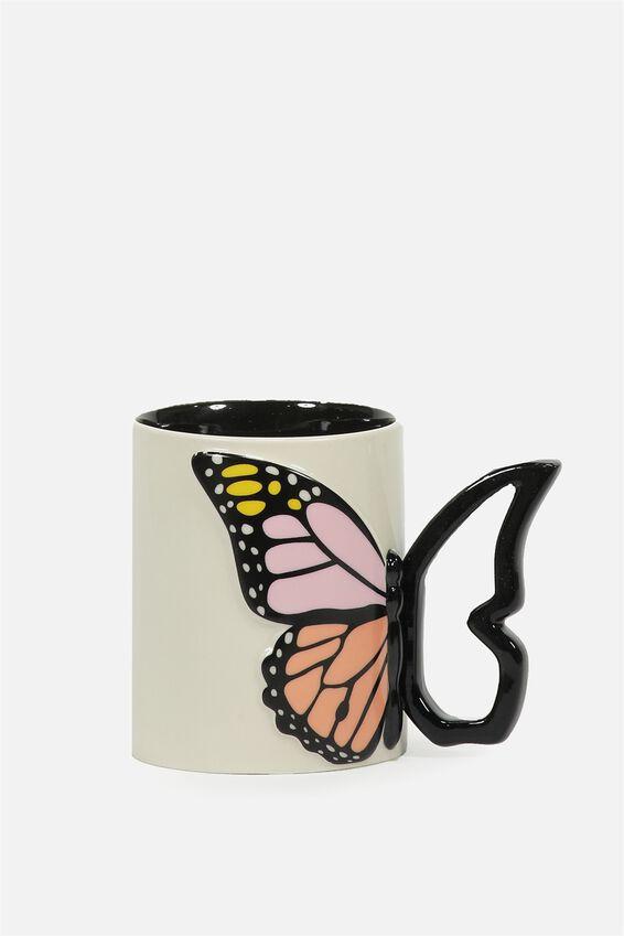 Novelty Shaped Mug, BUTTERFLY