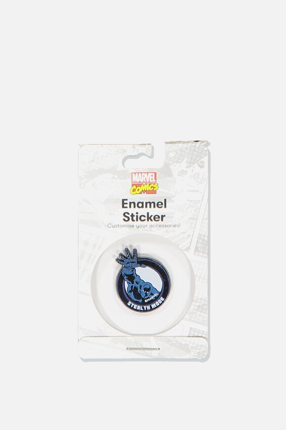 Enamel Stickers, LCN MAR BLACK PANTHER