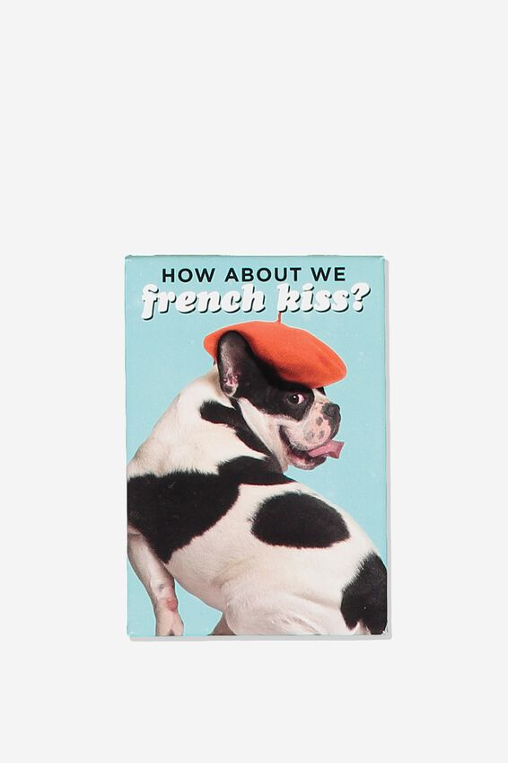Quirky Magnets, FRENCHIE KISS