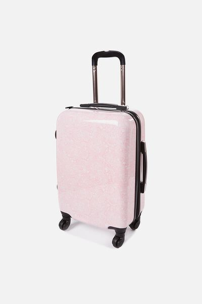 Small Suitcase, BLUSH LACE