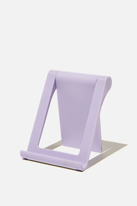 Collapsible Phone Stand, PALE LILAC