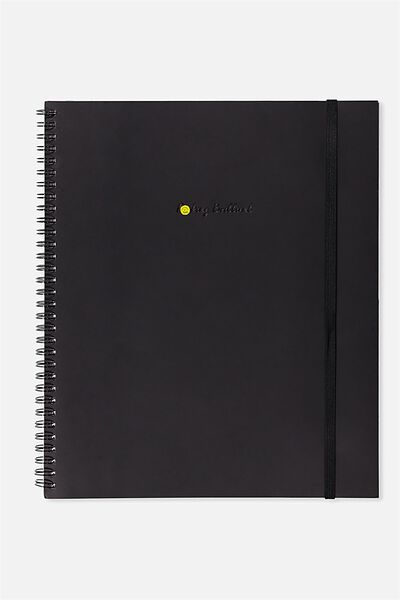 College Ruled Spinout Notebook V, F#*KING BRILLIANT!!
