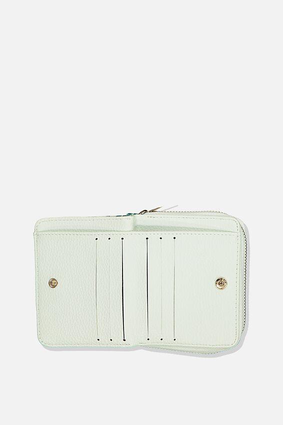 Rfid Mini Wallet, BONDI FOLIAGE