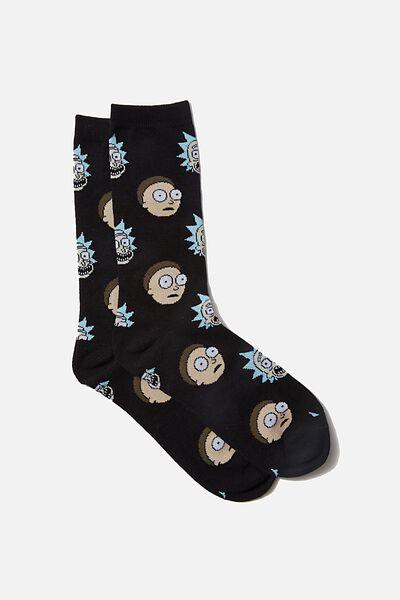 Novelty Socks, LCN CNW RM FACES