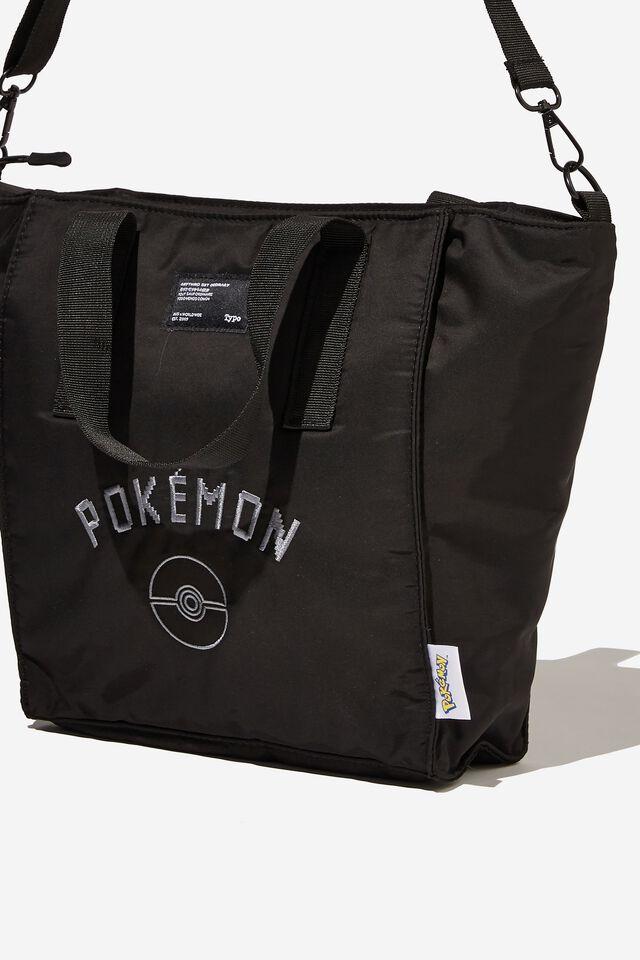 A5 Utility Book Tote Bag, LCN POK LOGO