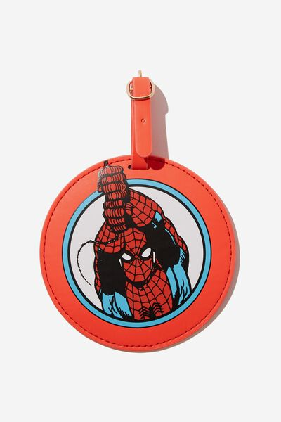 Shape Shifter Luggage Tag, LCN SPIDER MAN ICON