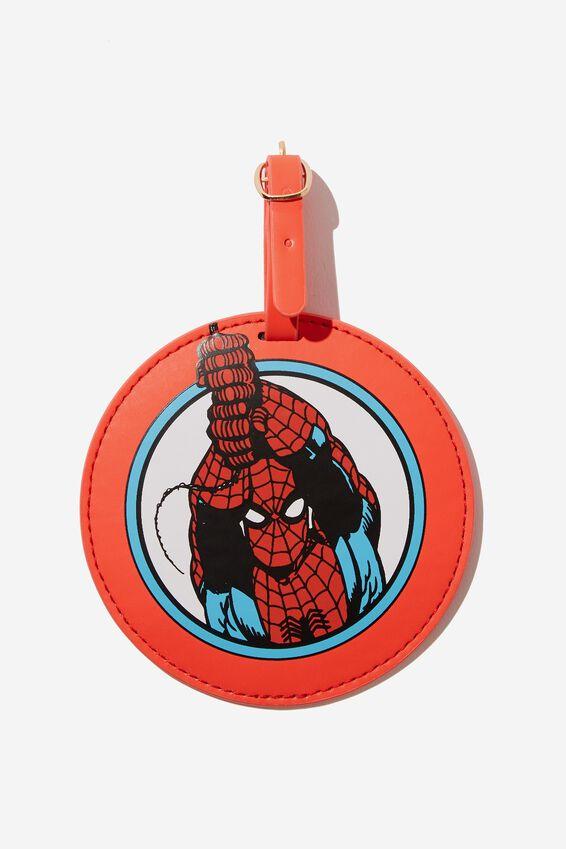 Marvel Shape Shifter Luggage Tag, LCN SPIDER MAN ICON