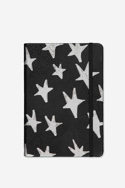 A5 Buffalo Journal, BLACK SILVER STARS