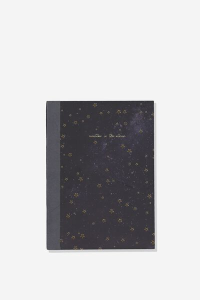 A5 Graduate Journal, WRITTEN IN THE STARS
