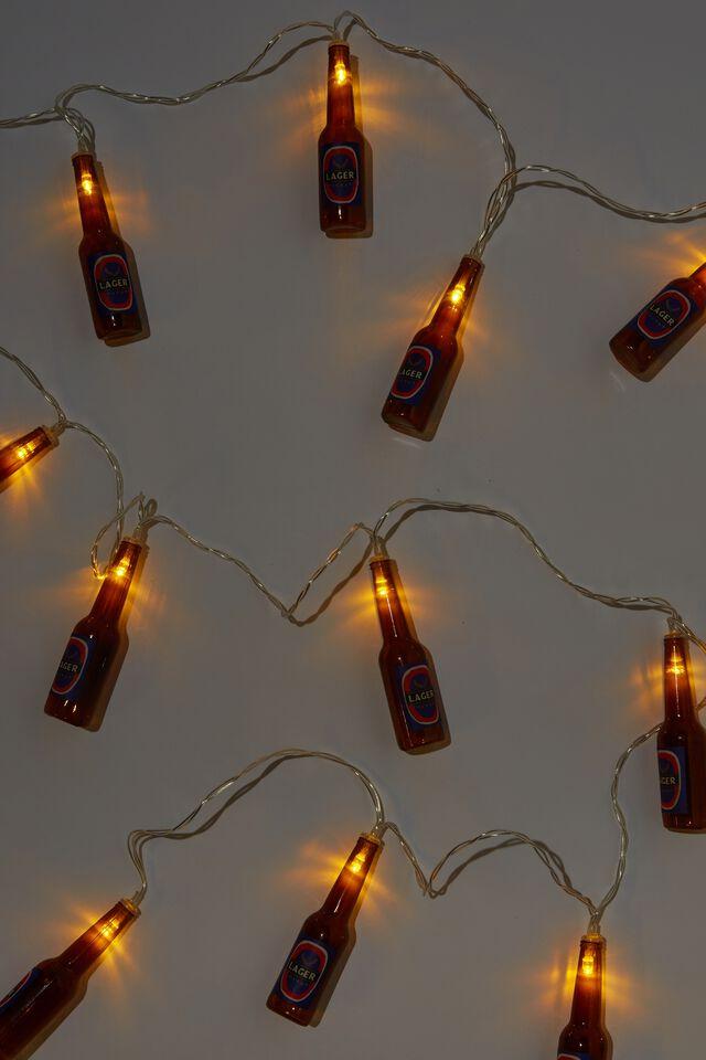 Usb Novelty String Light, BEER BOTTLES