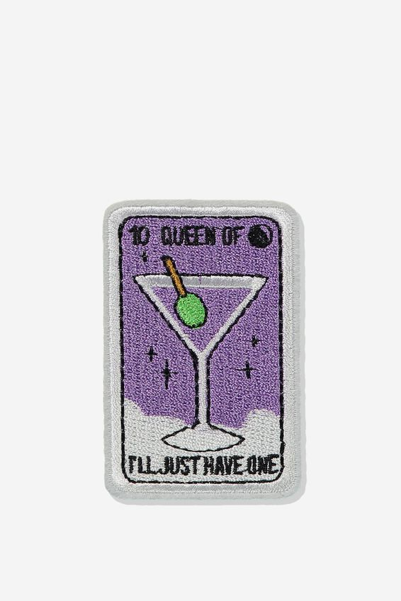 Fabric Badge, QUEEN OF HAVING ONE