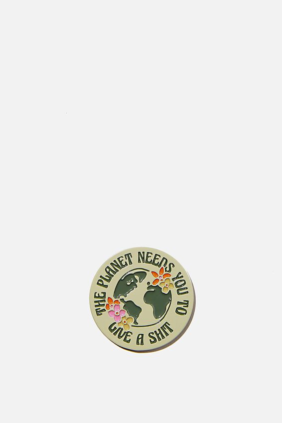 Enamel Stickers, PLANET NEEDS YOU