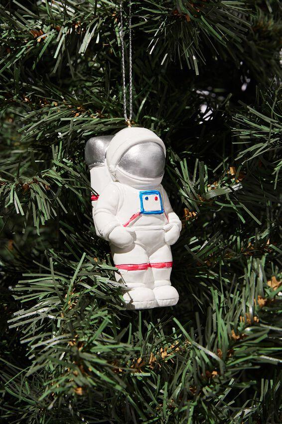 Resin Christmas Ornament, ASTRONAUT
