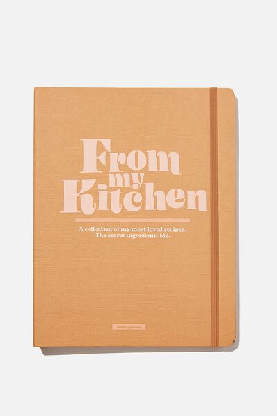 Large Premium Activity Journal, FROM THE KITCHEN