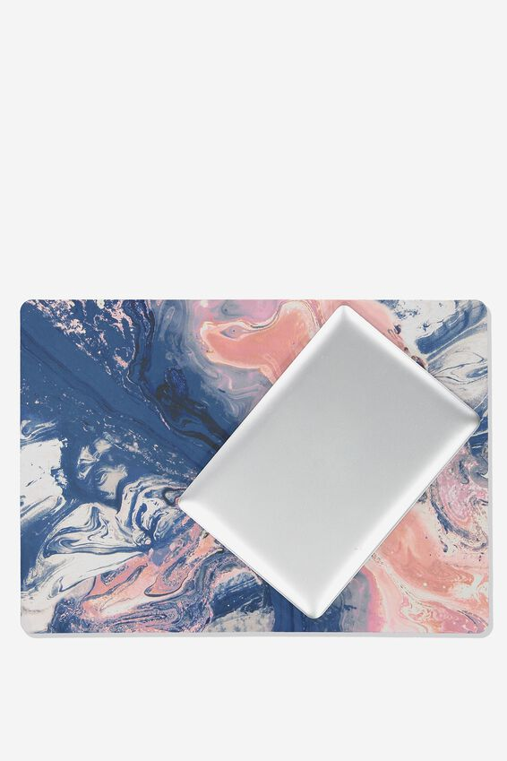 A2 Jumbo Mouse Pad, MOODY MARBLE
