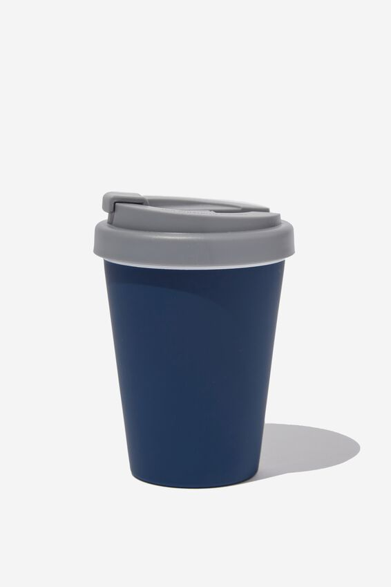 Take Me Away Mug, NAVY RUBBER