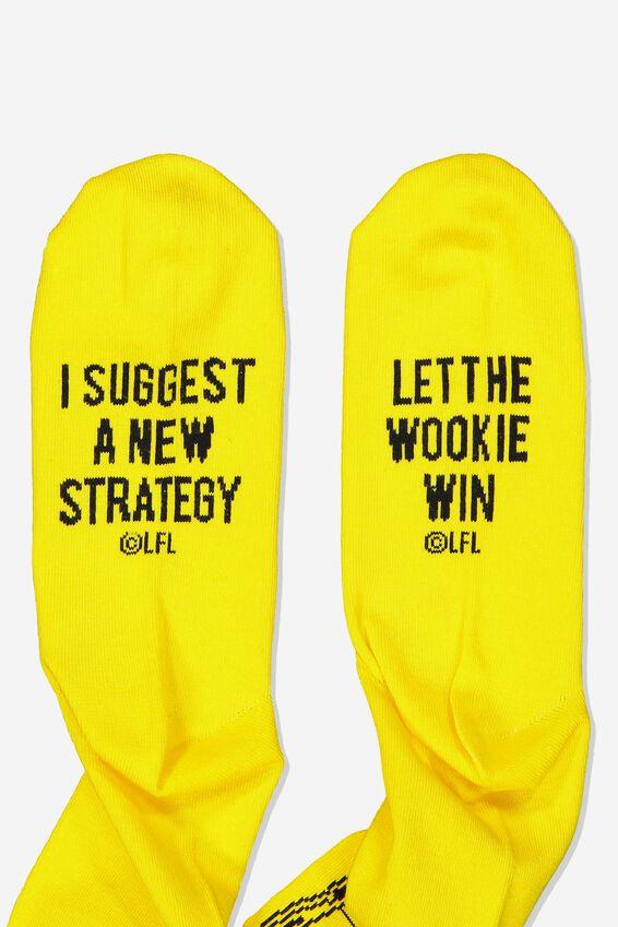 Mens Novelty Socks, LCN LU C3PO