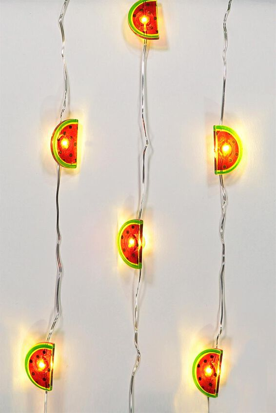 1.5M Novelty Twinkle Lights, WATERMELONS