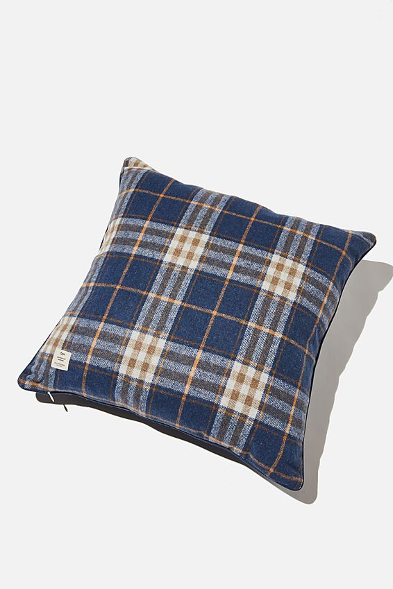 Square Cushion, TARTAN LAZY