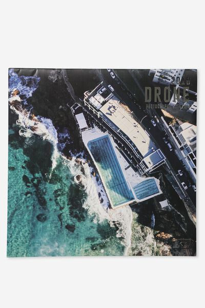 2019 Square Calendar, AERIAL DRONE IMAGES