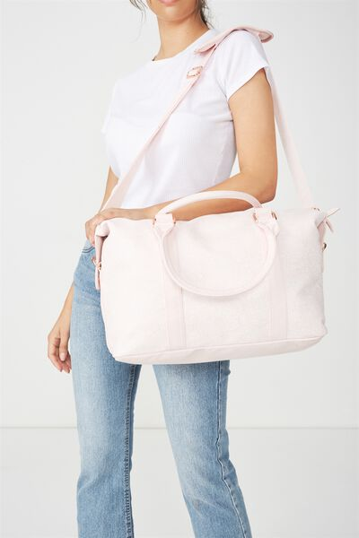 Weekend Away Duffel Bag, BLUSH FLORAL