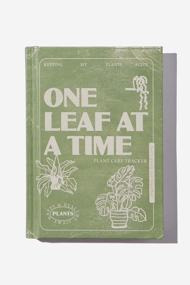 A6 Activity Journal, PLANT CARE