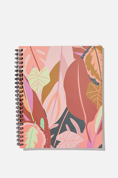 "A5 Campus Notebook-V (8.27"" x 5.83""), LEAF"