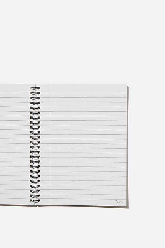 A5 Spinout Notebook Recycled, DNA TEST