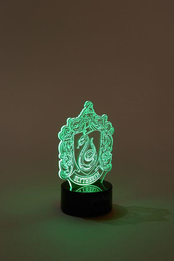 Harry Potter Mini Acrylic Light, LCN WB HP SLYTHERIN