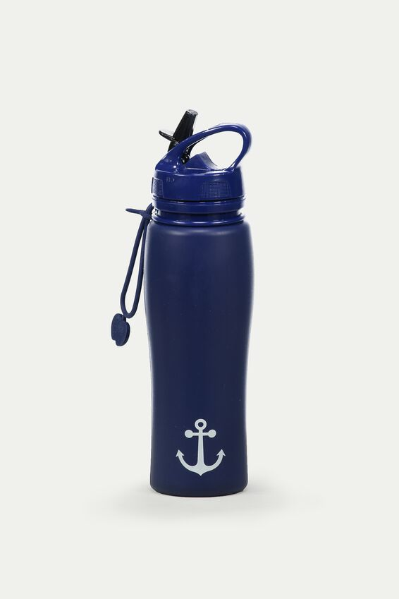 Silicon Roll Up Drink Bottle, ANCHOR